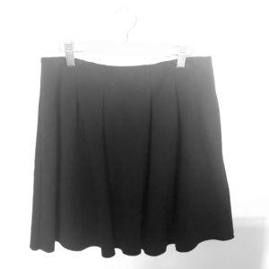 Madewell Short Black Skirt